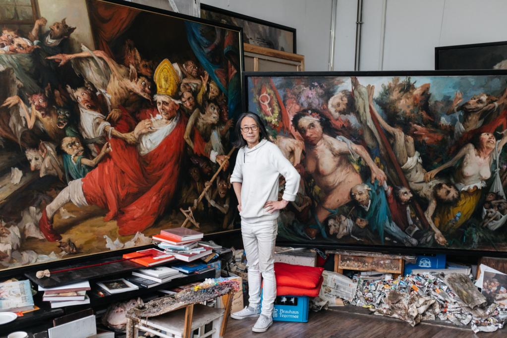 Yongbo Zhao, Maler